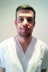 Miguel Hortelano, fisioterapeuta